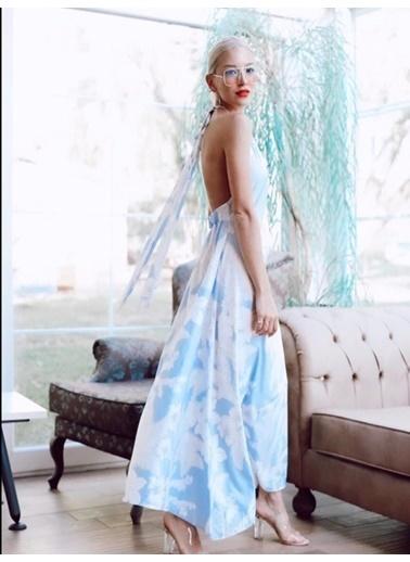 BLACK&GRACE Elbise Mavi